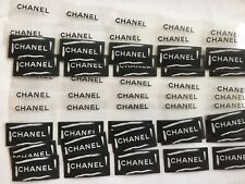 Super Angebot: 50 Chanel Sticker/ Chanel Logo Sticker, Aufkleber  5x2.5cm