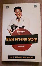 Lodetti / Dickson ELVIS PRESLEY STORY in italiano con dizionario delle canzoni