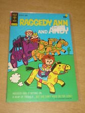 RAGGEDY ANN AND ANDY #5 FN (6.0) GOLD KEY COMICS JUNE 1973