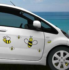 16 Pack Bumble Bee Stickers Decal Tile Car Wall Decor Laptop Home Children
