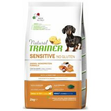 Natural Trainer Sensitive No Gluten ex Fitness 3 Adult Small & Toy con Salmone 2