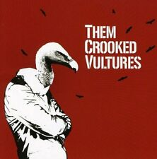 Them Crooked Vultures (Dave Grohl Josh Homme John Paul Jones) Sony Records CD
