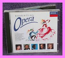 """OPERA - """"ESSENTIAL Opera"""", Pavarotti, Carreras, Caballe, Domingo, etc. CD"""