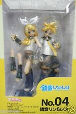 Used Volks Moekore PLUS No.04 Vocaloid Rin & Len 1:6 PVC PAINTED