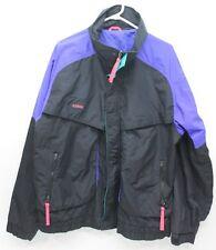 VINTAGE Men's Columbia Powder Keg Ski Snowboard Jacket Black 52 XL Extra Large
