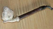 très ancienne pipe en terre cuite  gambier