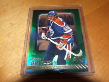 2016-17 Fleer Showcase Wayne Gretzky Green Ex