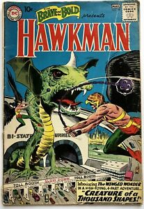 Brave and The Bold #34 1st Appearance Hawkman & Hawkgirl (1961) DC Silver Age