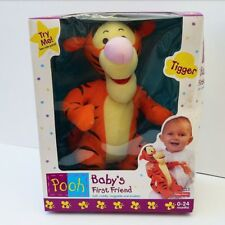 Baby's First Friend Tigger From Winnie the Pooh Mattel Vintage 0-24 Months