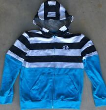 Boy's Ripcurl Sz 14 Hoodie Striped Hooded Sweatshirt