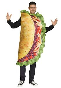 Adult Realistic Taco Tunic Costume Size Standard (Used)
