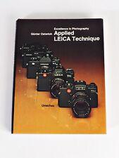 +Original Applied Leica Technique Camera Book