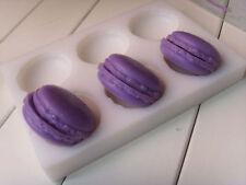 Molde De jabón 6-cavidad Medio Cuello Flexible de Silicona Molde Para Jabón Arcilla De Resina