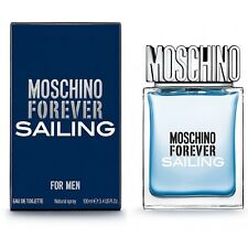 MOSCHINO FOREVER SAILING BY MOSCHINO EDT SPRAY (MEN) 1.7 OZ *NEW IN SEALED BOX*