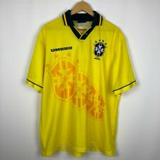 Vintage Brasil 1994 1995 Home football shirt soccer jersey rare Umbro size XL