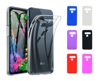 "TC Case Cover Silicone Gel TPU LG G8s ThinQ (4G) 6.2"""
