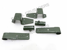 NEW WILLYS FORD COMPLETE SIDE & FRONT TOP BOW WITH PIVOT BRACKET SET #G194(C417)