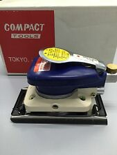 Compact Tools 814B2 Air Orbital Palm Sander-Made In Japan Brand New