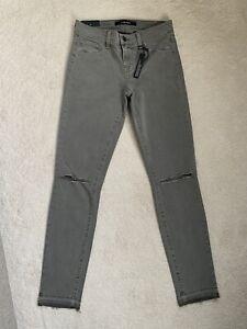 Women's Ladies J Brand Skinny Leg Distressed Jeans W25 (D88)