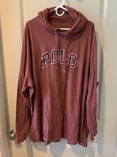 Polo Ralph Lauren Mens 4XLT Big & Tall Lightweight Hoodie Long Sleeve