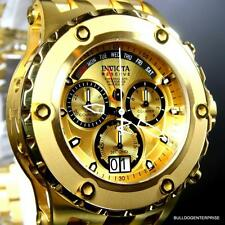 Invicta Reserve Specialty Subaqua Chronograph Gold Plated 52mm Swiss Watch New