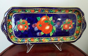 A rare and stunning sandwich/cake/biscuit plate or platter.