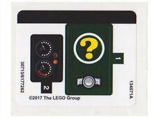 LEGO 70903 - Batman Movie - The Riddler Riddle Racer - STICKER SHEET