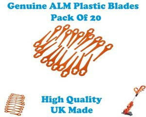 TERRATEK TTCGT18 Grass Trimmer Plastic Blades ALM GR182