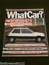 WHAT CAR? - NEW RENAULT 5 - MARCH 1985