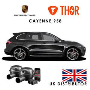 Porsche Cayenne 958 THOR Electronic Exhaust, 2 Loudspeaker UK