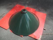VINTAGE ANTIQUE INDUSTRIAL FACTORY ENAMEL? POWDER COAT LIGHT LAMP SHADE MAN CAVE