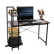 Home Office Bookshelf Desk Computer PC Writing Work Table Wooden Furniture
