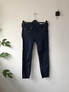 Women Rag & bone cadet blue cropped skinny jeans W27