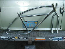 26 bmx cruiser frame fork retro 3 bar strandie 26bmx cruiser old school vintage