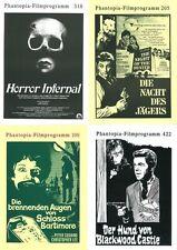 PHANTOPIA FILMPROGRAMM | Nummernbereich 1-440 | nahezu komplett | 424 Exemplare