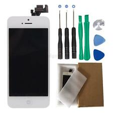 Replace White LCD Touch Digitizer Screen Full Assembly for iPhone 5 w/Tools