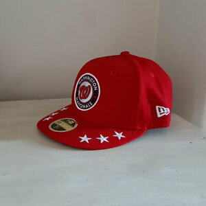 Washington Nationals Low Profile MLB 59FIFTY Fitted Cap - size 7 1/2