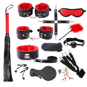 Cozy Feel Slave Bondage Set SM kit Under Bed Restricted Toys BDSM 12 Pieces