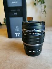 Olympus 17 mm f1.2 Pro Lens - Excellent condition M43 Micro Four Thirds mount