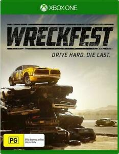 Wreckfest - Xbox One VERY GOOD FREE POST + TRACKING !