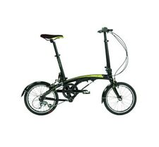 "Dahon EEZZ D3 16"" Sable Folding Bike Bicycle"