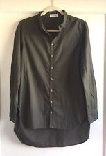 Free People X Cp Shades Green Button Down Top Shirt Tunic Size Small S