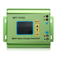 24/36/48/60/72V 10A DC-DC Boost LCD MPPT Solar Regulator Charge Controller T1I6
