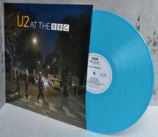 "U2 at the BBC 12"" LP BLUE VINYL Record eXPERIENCE iNNOCENCE Promo Tour Edition"
