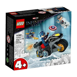 LEGO® Marvel Avengers Captain America And Hydra Face-Off Building Set 76189 NEW