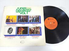 """SUPER PARA DISCOTECAS Nº 1 - LP VINYL 12"""" 1976 G+/VG STEPPENWOLF STEELY DAN"""
