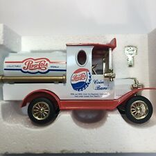 Pepsi Cola Golden Classic Diecast Metal Special Edition Truck Gift Bank & Key