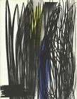 HANS HARTUNG Untitled 12.25 x 9.5 Lithograph 1973 Abstract