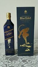 Johnnie Walker Scotch Whisky Blue Label 2016 Zodiac BLUE Monkey! 1L! Duty Free!
