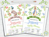 10 Personalised Peter Rabbit Baby Shower Invitations Invites Boy Girl + Envs